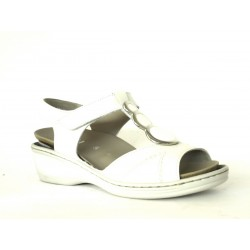 Ara shoes SANDALO DONNA IN PELLE BIANCO ARA SHOES DONNA