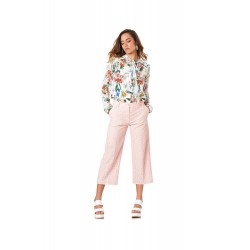 Cafe Noir PANTALONE COULOTTE PIZZO - IJP764