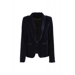 Cafe Noir BLAZER SMOKING VELLUTO - LJI760