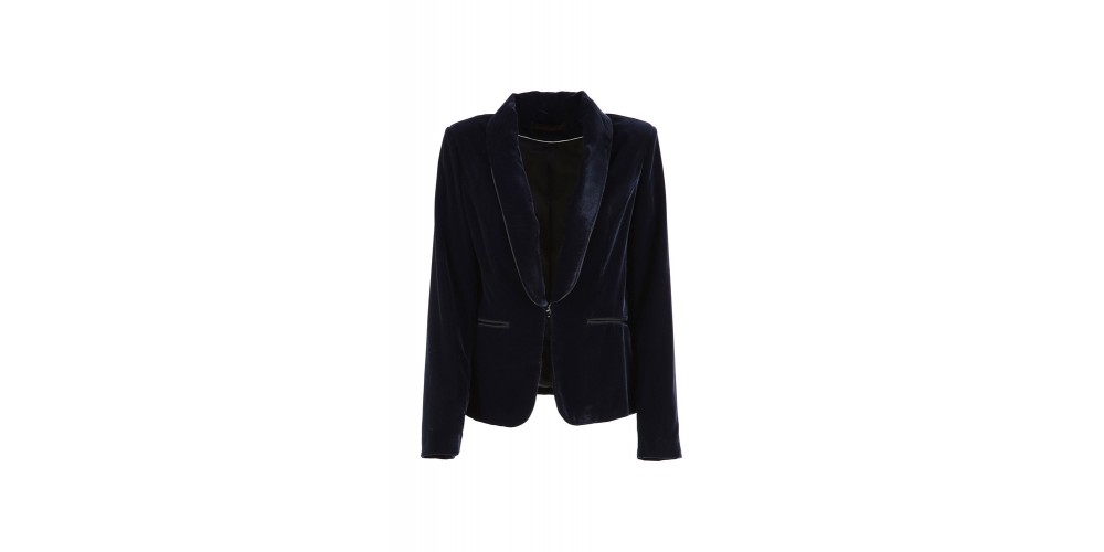 Cafe Noir BLAZER SMOKING VELLUTO DONNA