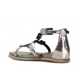Ara shoes sandalo donna con zeppa modello Ruegen COD 37051