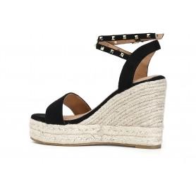 Borbonese - Luna Bag medium in Jet op nero