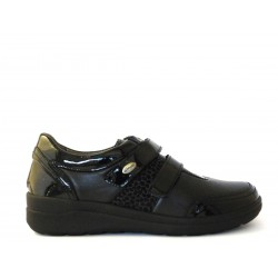Grunland sneaker donna in pelle elasticizzata modello FINN codice SC4020