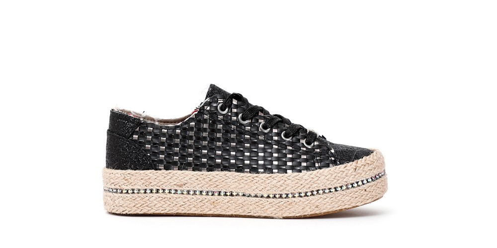 Cafe Noir SNEAKERS IN SIMILPELLE INTRECCIATA DONNA