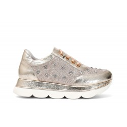 Cafe Noir SNEAKERS IN SIMILPELLE CON STRASS - GDB976