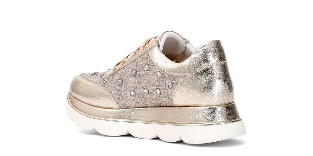 Cafe Noir SNEAKERS IN SIMILPELLE CON STRASS DONNA